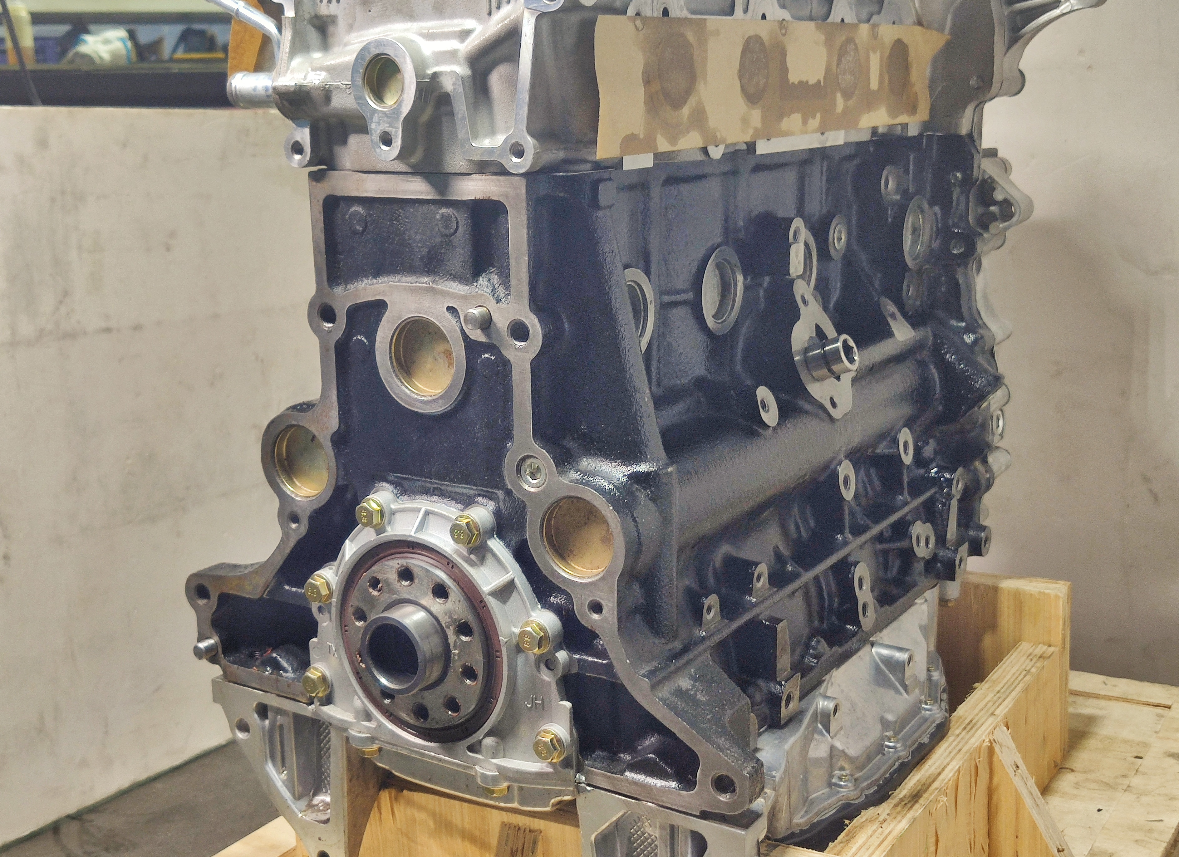 Auto engine assembly long block Engine assembly completed engine for 2TR